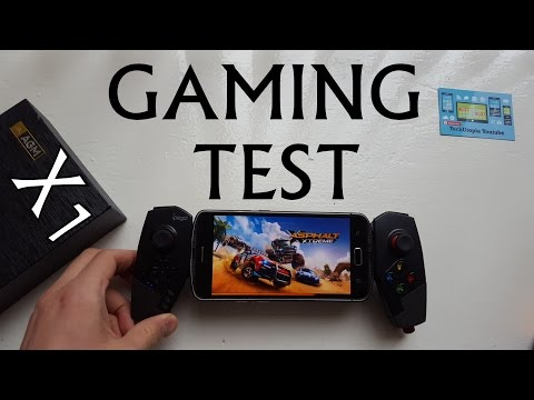 AGM X1  GAMING test/gameplay/with gamepad(Snapdragon 617/Adreno 506)hi end games