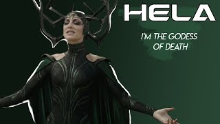 I'm the godess  of death | HELA