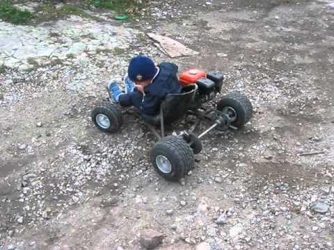 Квадроцикл из бензопилы своими руками фото
