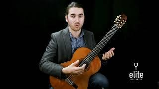 Carcassi Study #3 - Tutorial Part 1/2 -  EliteGuitarist.com Online Classical Guitar Lessons
