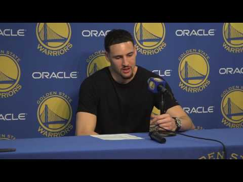 Thompson has funny response to reporter asking why he's been special