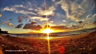 HD Hawaii Sunset 2013 time lapse with the GoPro Hero 3 Black