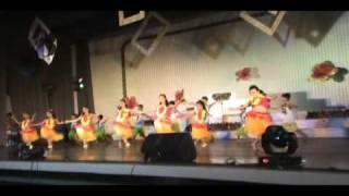 Sandiego Dance Recital (61st Annual Recital) KIDS HAWAIIAN SAMBA
