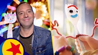 Make a Friend With Tony Hale | Pixar