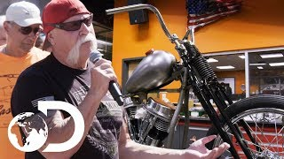 """Paul's """"Senior Series"""" Line Completely Wows Motorcycle Community 