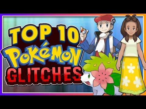 Top 10 Crazy Pokémon Glitches! (GEN 1-7)