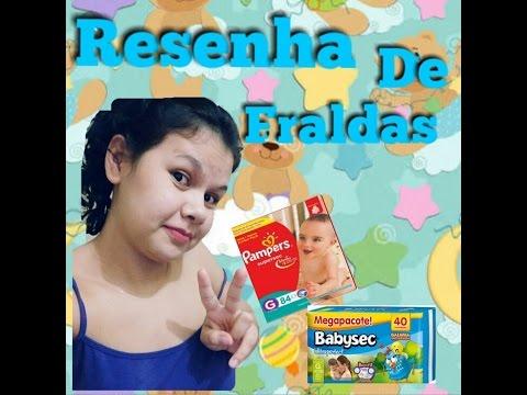 Resenha De Fraldas Baby Sec e Pampers