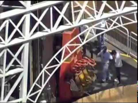 Adolescente morre no Hopi Hari no brinquedo Torre Eiffel 24 02 2012 Rede Record