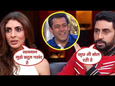 Xxx Mp4 Salman Khan एक बहुत ही Hottest Star है Abhishek की बहन Shweta ने कहा Koffee With Karan 3gp Sex