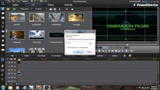 Using Chroma Key in Power Director 11