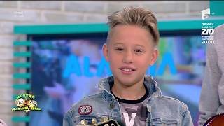 "Copiii de la Alarma, single nou: ""Videoclipul a fost filmat la un pool party"""