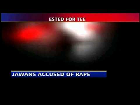 19 years girl raped by Jawans of Indian Army