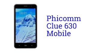 Phicomm Clue 630 Mobile Specification [INDIA]
