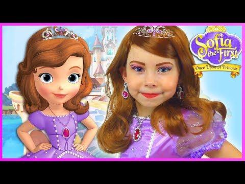 Xxx Mp4 Sofia The First Kids Makeup Disney Princess Pretend Play With Toy DRESS UP In Real Princess Dress 3gp Sex