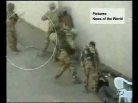 abuso de soldados en irak