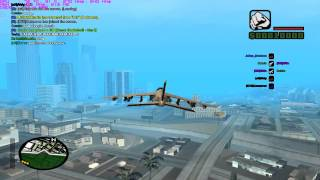 Displays of flying skill SA:MP server xMovie GTA:SA