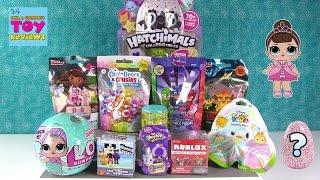 LOL Surprise Hatchimals Colleggtibles Disney Surprise Egg Mashems Blind Bag Opening | PSToyReviews