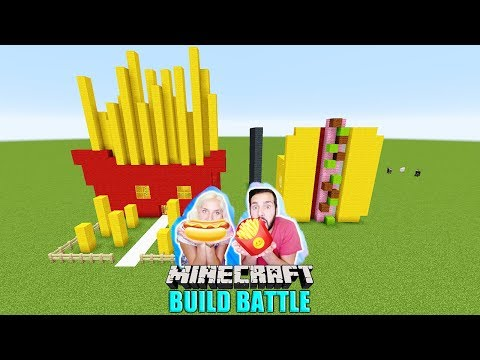 Xxx Mp4 KAANS POMMES Haus Vs NINA HOT DOG Haus Fast Food Minecraft Build Battle Welches Haus Schmeckt Gut 3gp Sex