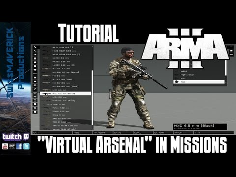 Virtual Arsenal in  Missions - ARMA 3 [Tutorial]