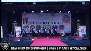 Krypocalz Crew - Mumbai | 1st place | Indian Hip-Hop Dance Championship | HHI