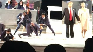 'President Trump' Gets Stabbed To Death In Modern Day Version Of 'Julius Caesar'