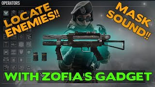 How to Locate Enemies and Mask Sound with Zofia's Gadget || Rainbow Six Siege Tips