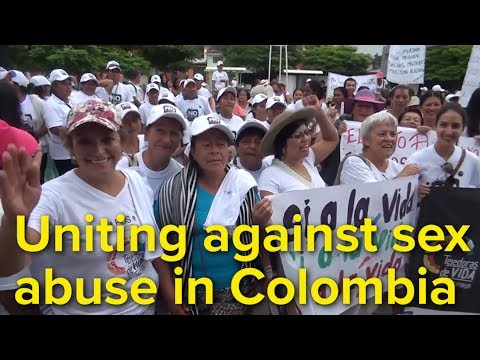Xxx Mp4 Displaced Women In Colombia Unite Against Sex Abuse 3gp Sex