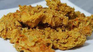 طرز تهیه مرغ سوخاری کنتاکی (پولکدار) به سبک رستوران کی اف سی