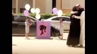 شاب سعودي فجاء زوجته بحفل تخرجه❤