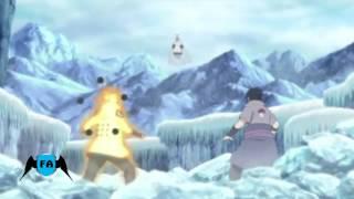 [Zueira][Naruto Shippuden ep.463 completo] Naruto e sasuke vs kaguya(part.1)