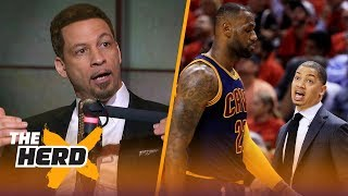 Chris Broussard explores the LeBron - Ty Lue relationship, Compares Trae Young to Curry | THE HERD