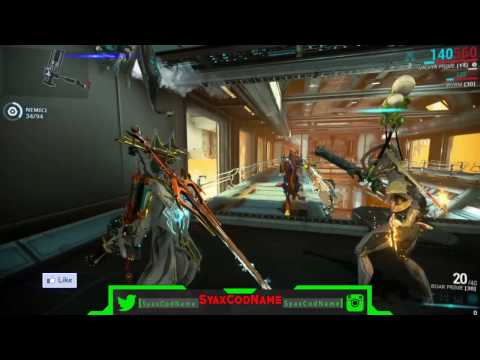Valkyr Prime & Trinity Prime-Vs-Shadow Stalker- # Warframe ITA