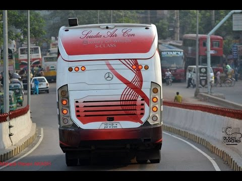 AC buses in BD(part2)/Air-Conditioned buses in Bangladesh