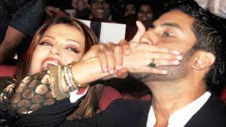 Aishwarya Rai & Abhishek Bachchan's CUTE Moments