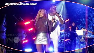 DATING? Wiz Khalifa HUGS Rita Ora | Surprises Her At Concert