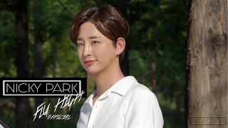 """NICKY Park MAKING OF """"FLY HIGH"""" MV"""