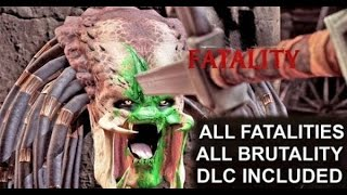 Mortal Kombat XL All Fatalities, Brutalities, Secrets Brutalities, Faction Kills, X-Ray & Endings
