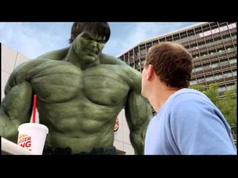 Hulk Burger King Marvel