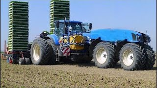 World Amazing Modern Agriculture Heavy Equipment and Mega Machines Tractor Harvester Plow #ALN