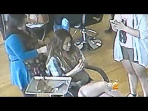 Caught on Camera: Woman Walks Out Of Burbank Salon After Getting $900 Worth Of Treatments