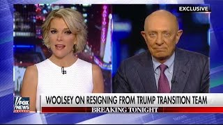 Woolsey explains why he stopped advising Trump