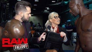 Titus Worldwide challenge Sheamus & Cesaro: Raw Fallout, Feb. 19, 2018