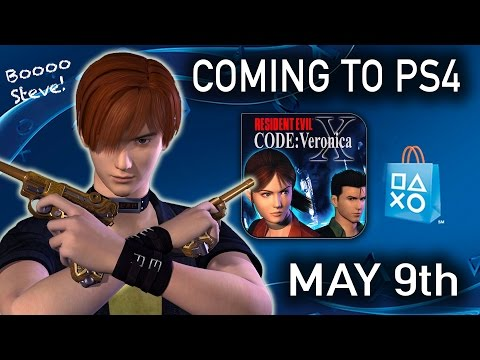 RESIDENT EVIL CODE VERONICA X   CVX PS4   Coming May 9th!   RE News