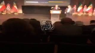 تنش بر سر ملیت خواندن ملت ایران در نشست دانشگاه جرج واشنگتن