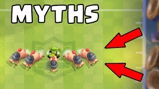 Top 10 Mythbusters in Clash Royale | Myths #11