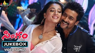 Singam Jukebox Video Songs   Suriya, Anushka, Hansika   Sri Balaji Video