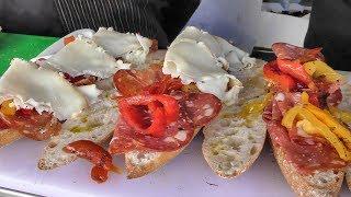 Italian Traditional Sandwiches. Old Spitalfields Market. London Street Food
