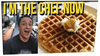 Man Cooks For Himself at Waffle House ft. Khalyla Khun, Gilbert Galon & DavidSoComedy