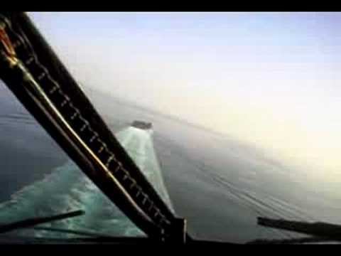 Aterrizaje en un porta aviones