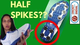 TYPES OF CRICKET SHOES   Cricket Spikes   Difference   Batting shoes   Cricket with Snehal Hindi